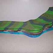 Аксессуары ручной работы. Ярмарка Мастеров - ручная работа Тонкие шерстяные носочки. Handmade.
