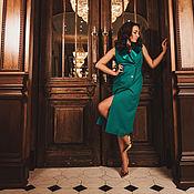 """Одежда ручной работы. Ярмарка Мастеров - ручная работа Платье жилет """"Ирэн"""",двубортное платье,платье пиджак,нарядное платье. Handmade."""