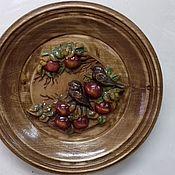Картины ручной работы. Ярмарка Мастеров - ручная работа Тарелка декоративная. Handmade.