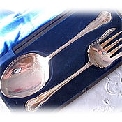 Сервировочный набор. Серебрение. Англия