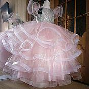 Платье ручной работы. Ярмарка Мастеров - ручная работа Одежда: платье с очень пышной юбкой. Handmade.