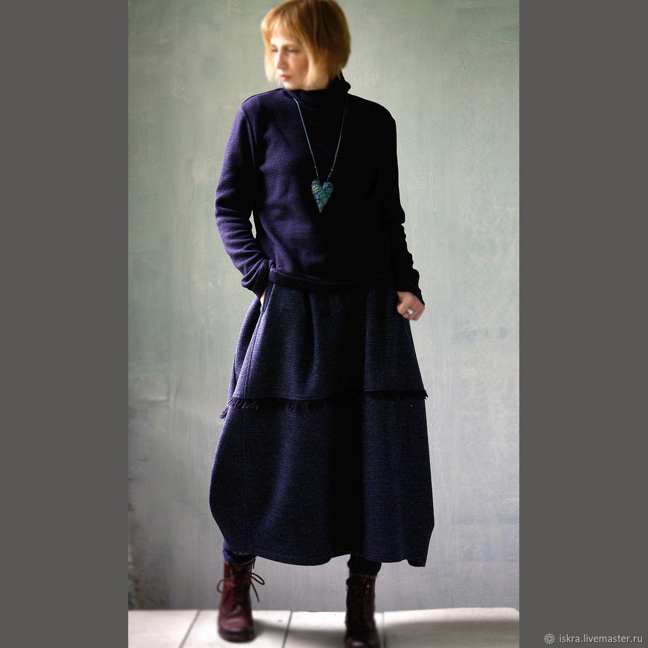 Теплая шерстяная юбка, Юбки, Москва,  Фото №1