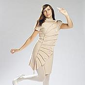 Одежда ручной работы. Ярмарка Мастеров - ручная работа Платье-жакет Лист. Handmade.