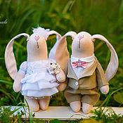 Куклы и игрушки ручной работы. Ярмарка Мастеров - ручная работа Just married. Handmade.