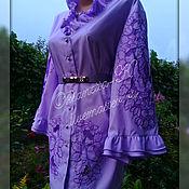 Одежда handmade. Livemaster - original item Blouse embroidered