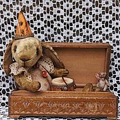 Куклы и игрушки ручной работы. Ярмарка Мастеров - ручная работа Кролик Жан Поль. Handmade.