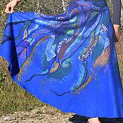 """Одежда ручной работы. Ярмарка Мастеров - ручная работа Валяная юбка """"Вселенная"""". Handmade."""