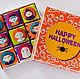 """Подарки на Хэллоуин ручной работы. Ярмарка Мастеров - ручная работа. Купить Шокобокс. Шоколадный набор на """"Halloween"""". Handmade. Бежевый"""