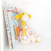 Куклы и игрушки handmade. Livemaster - original item Giraffe in a dress. Handmade.