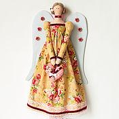 Куклы и игрушки ручной работы. Ярмарка Мастеров - ручная работа Тильда. Винтажный Ангел.. Handmade.
