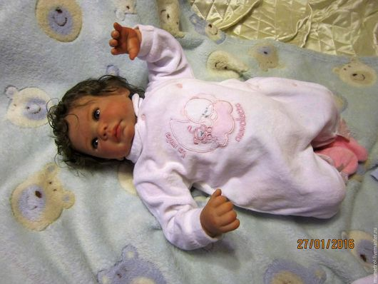 Куклы-младенцы и reborn ручной работы. Ярмарка Мастеров - ручная работа. Купить Кукла реборн Ляля-2. Handmade. Кремовый