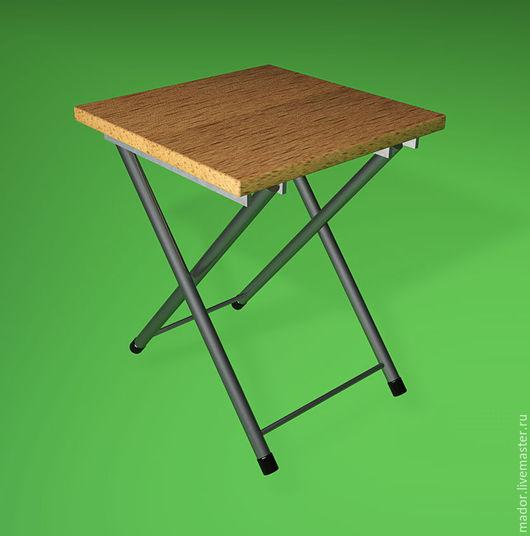 Мебель ручной работы. Ярмарка Мастеров - ручная работа. Купить Универсальный складной стул. Handmade. Коричневый, стул, дерево, сталь