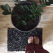 Для дома и интерьера handmade. Livemaster - original item A carpet of pebbles massage. Handmade.