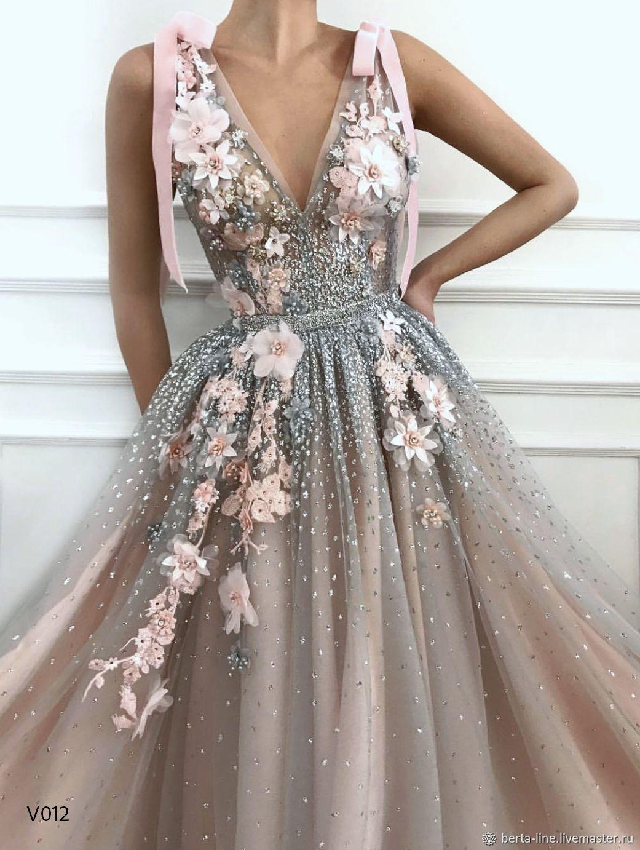 платье голубое на свадьбу купить