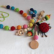 "Одежда handmade. Livemaster - original item Slingobusy ""ladybug"". Handmade."