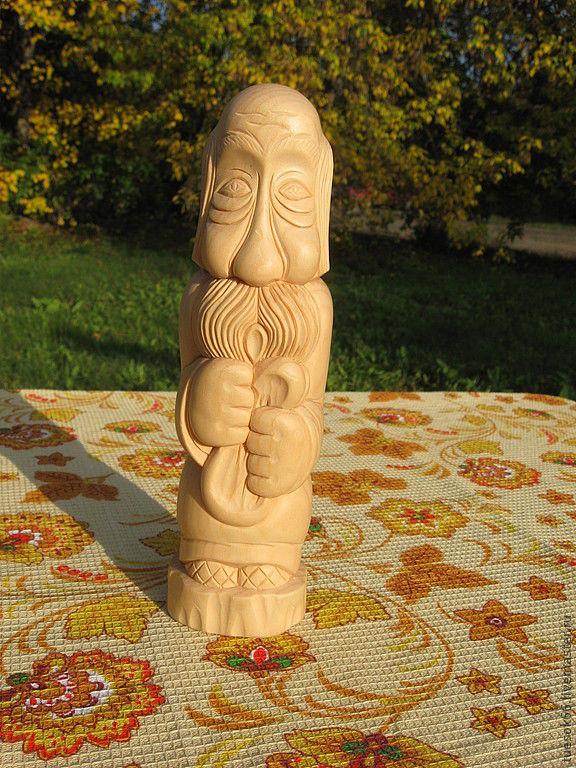 Статуэтки ручной работы. Ярмарка Мастеров - ручная работа. Купить Резные фигуры из дерева. Handmade. Статуэтка, подарок бабушке, дедушка