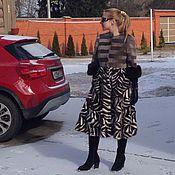 Одежда ручной работы. Ярмарка Мастеров - ручная работа Эксклюзивное пальто меховое. Handmade.