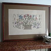 Картины и панно ручной работы. Ярмарка Мастеров - ручная работа Silent Sampler. Handmade.