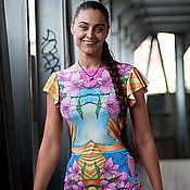"""Одежда ручной работы. Ярмарка Мастеров - ручная работа Платье """"Цветы"""". Handmade."""