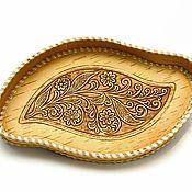 handmade. Livemaster - original item Dish made of birch bark