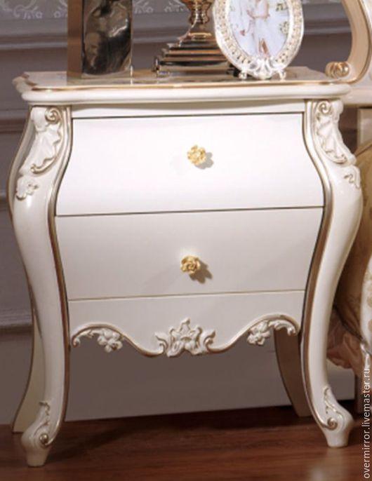 Мебель ручной работы. Ярмарка Мастеров - ручная работа. Купить Тумба. Handmade. Белый, белая мебель, тумба прикроватная
