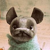 """Куклы и игрушки ручной работы. Ярмарка Мастеров - ручная работа Текстильная собака  """"Французик"""". Handmade."""