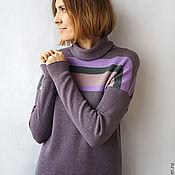 Одежда ручной работы. Ярмарка Мастеров - ручная работа Кашемировый пуловер Конфетти. Handmade.