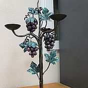 """Для дома и интерьера ручной работы. Ярмарка Мастеров - ручная работа подсвечник """"виноградик"""". Handmade."""