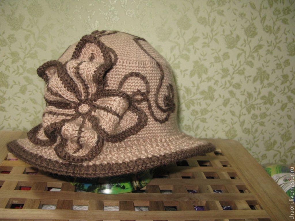 Вязать осеннюю шляпу