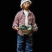 """Куклы и игрушки ручной работы. Ярмарка Мастеров - ручная работа """"Пошел в баню..))"""". Handmade."""