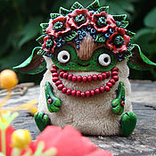 Куклы и игрушки ручной работы. Ярмарка Мастеров - ручная работа Цветочная Эльфочка. Handmade.