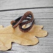 Кольца ручной работы. Ярмарка Мастеров - ручная работа Медное кольцо Извилисты пути судьбы. Handmade.