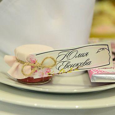 Свадебный салон ручной работы. Ярмарка Мастеров - ручная работа Комплимент для гостей на свадьбе рассадка для гостей. Handmade.