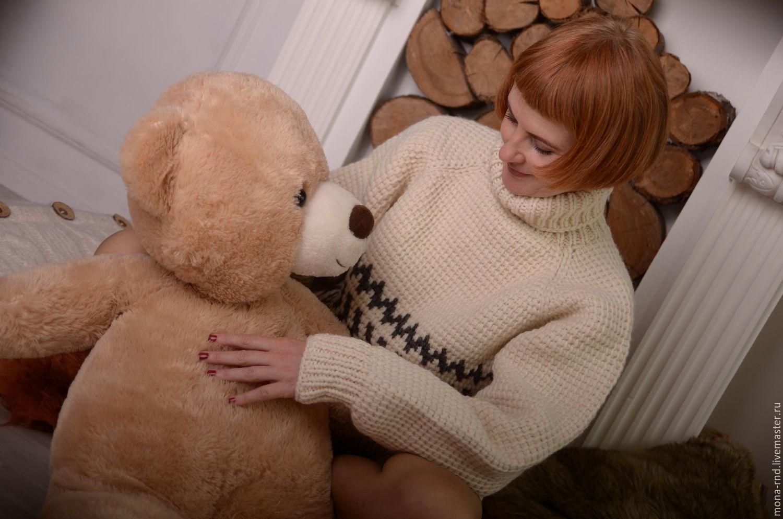 Пуловер Теплый Доставка