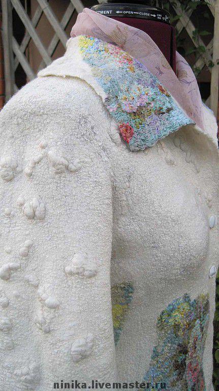 """Пиджаки, жакеты ручной работы. Ярмарка Мастеров - ручная работа. Купить Пиджак """"Флейта"""". Handmade. Шёлк натуральный"""