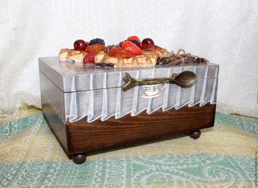 Кухня ручной работы. Ярмарка Мастеров - ручная работа. Купить Шкатулка для чая, шкатулка чайных пакетиков. Handmade. Шкатулка для чая