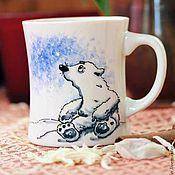 Посуда ручной работы. Ярмарка Мастеров - ручная работа Медвежонок Умка. Handmade.