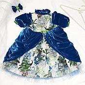 Работы для детей, ручной работы. Ярмарка Мастеров - ручная работа Сказочное Новогоднее платье. Handmade.