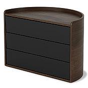 Для дома и интерьера handmade. Livemaster - original item Jewelry box MOONA black-walnut. Handmade.