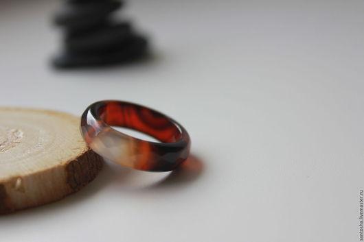 Кольца ручной работы. Ярмарка Мастеров - ручная работа. Купить Кольцо из сардоникса (KOS0073). Handmade. Комбинированный, кольцо сардоникс