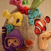 Для дома и интерьера ручной работы. Ярмарка Мастеров - ручная работа Смешные банные шапки. Handmade.