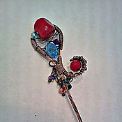 """Украшения ручной работы. Ярмарка Мастеров - ручная работа шпилька для волос """" Мелодия"""". Handmade."""