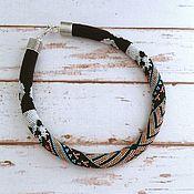 Украшения handmade. Livemaster - original item The wiring from the Japanese bead
