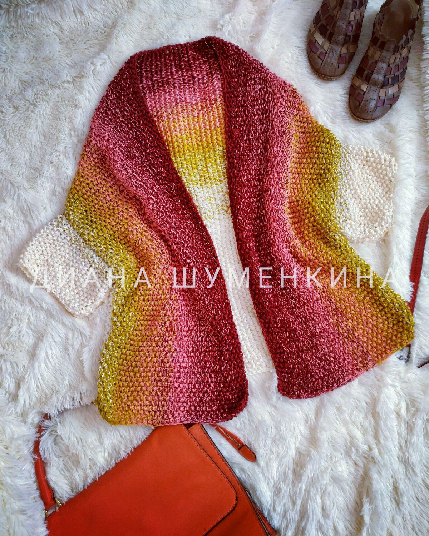 Knitted gradient cardigan, Cardigans, Yoshkar-Ola,  Фото №1