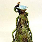 """Для дома и интерьера ручной работы. Ярмарка Мастеров - ручная работа ваза для цветов """"Родничок"""". Handmade."""
