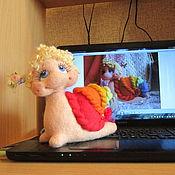 Куклы и игрушки ручной работы. Ярмарка Мастеров - ручная работа Уля-  радужная красотуля. Handmade.
