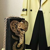 Сумки и аксессуары handmade. Livemaster - original item Gold Cobra handbag. Handmade.