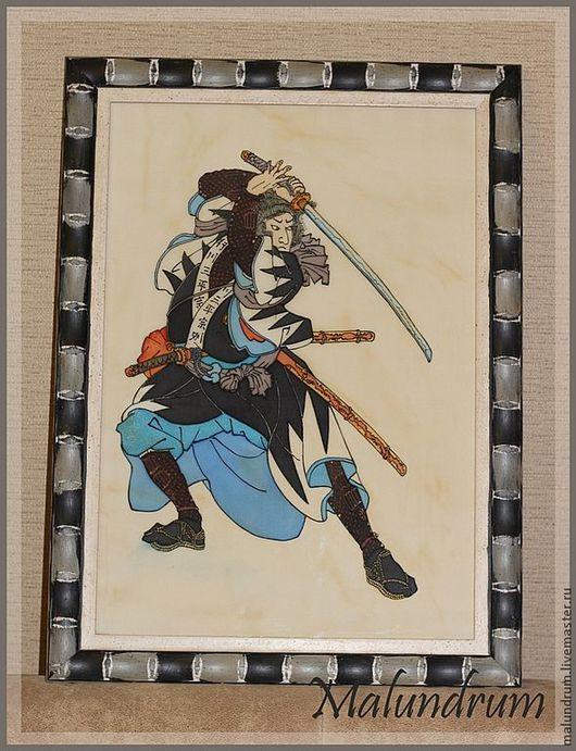 Репродукции ручной работы. Ярмарка Мастеров - ручная работа. Купить 47 преданных самураев (репродукция гравюры). Handmade. Бежевый, Самурай