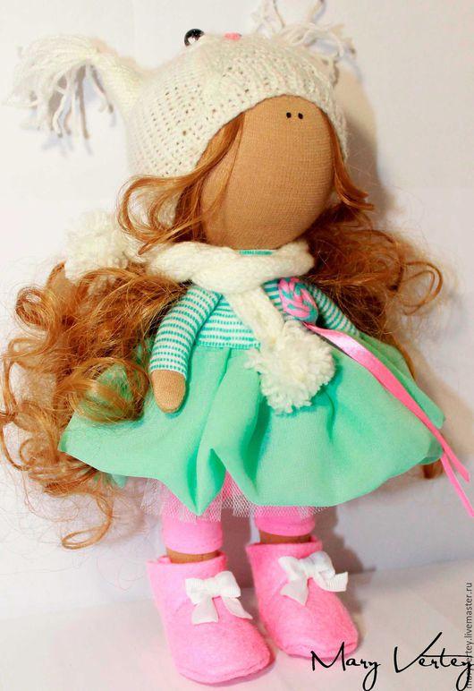 Куклы тыквоголовки ручной работы. Ярмарка Мастеров - ручная работа. Купить Интерьерная кукла. Handmade. Куколка, подарок, на новый год