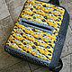 """Рюкзаки ручной работы. Ярмарка Мастеров - ручная работа. Купить Рюкзак """"Такси"""". Handmade. Рюкзак, ткань для пэчворка"""